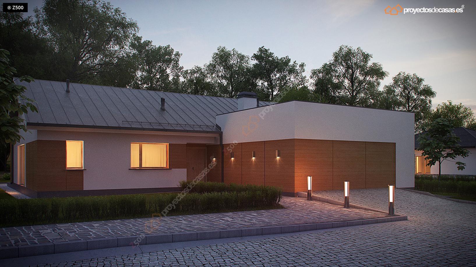 Proyectos de casas casa tradicional proyectosdecasas for Cubiertas para casas