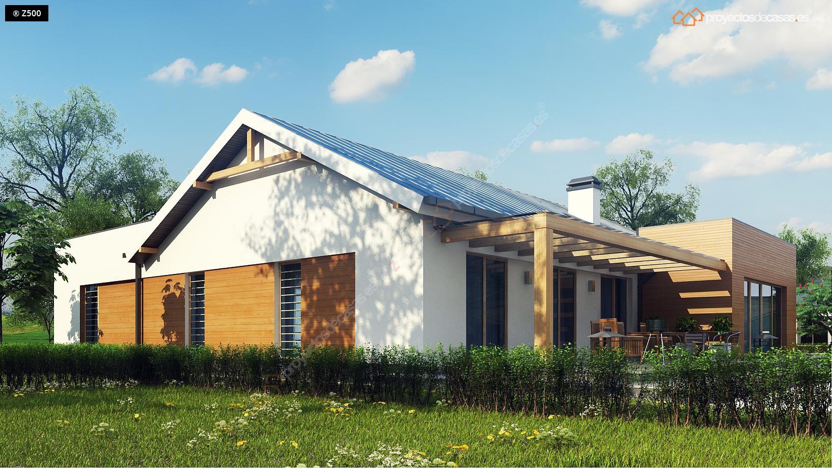 Proyectos de casas casa tradicional proyectosdecasas - Diseno de una casa ...