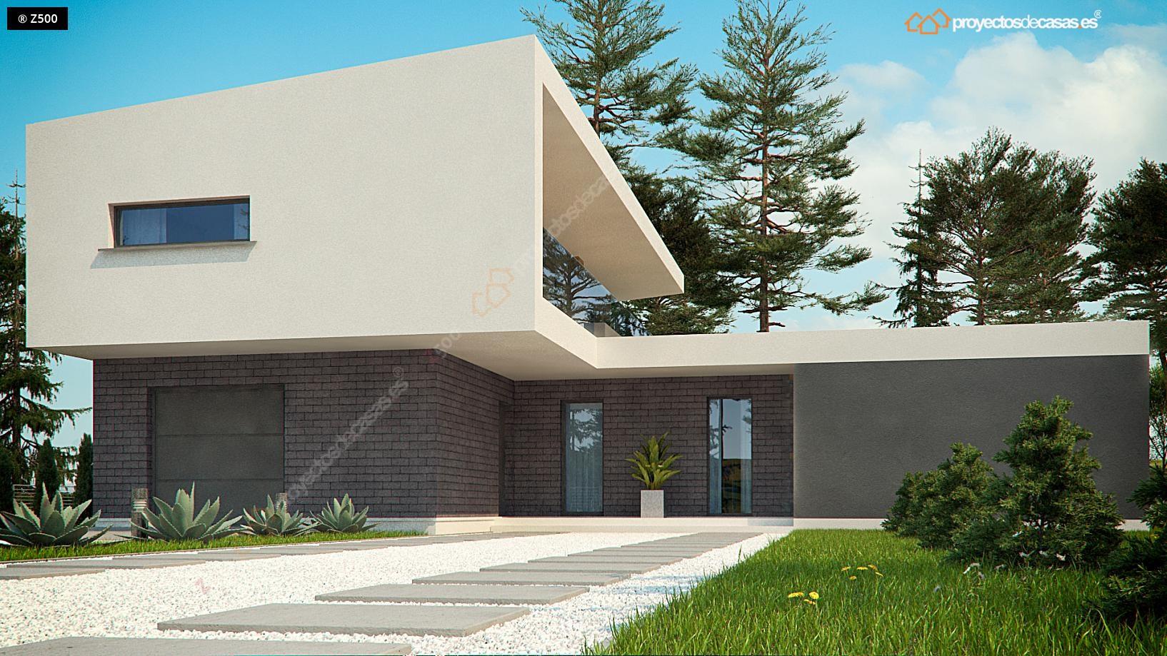 Proyectos de casas casa de dise o moderna for Casa de diseno guadalajara