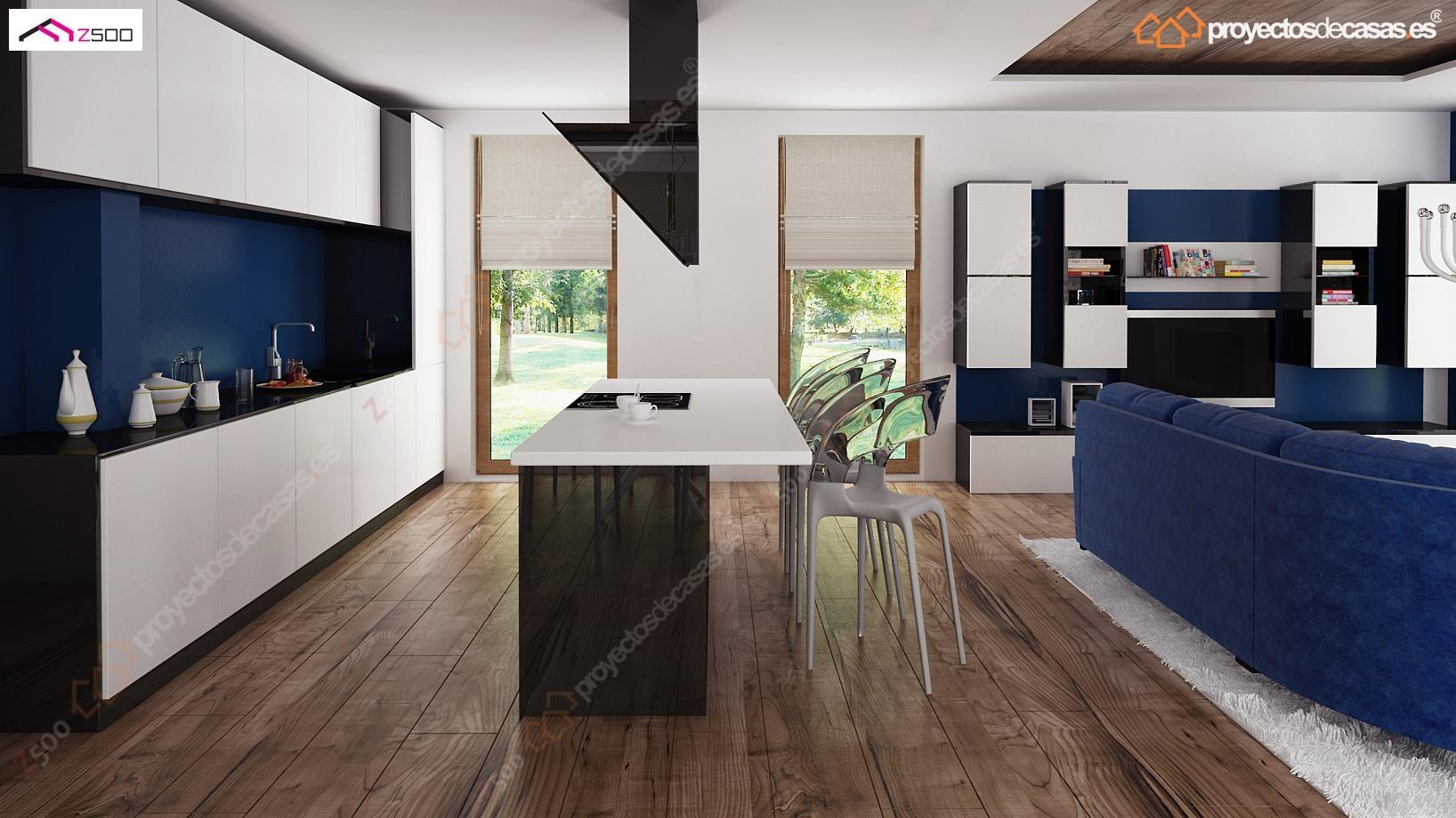 Proyectos de Casas Casa Navacerrada de diseo moderna