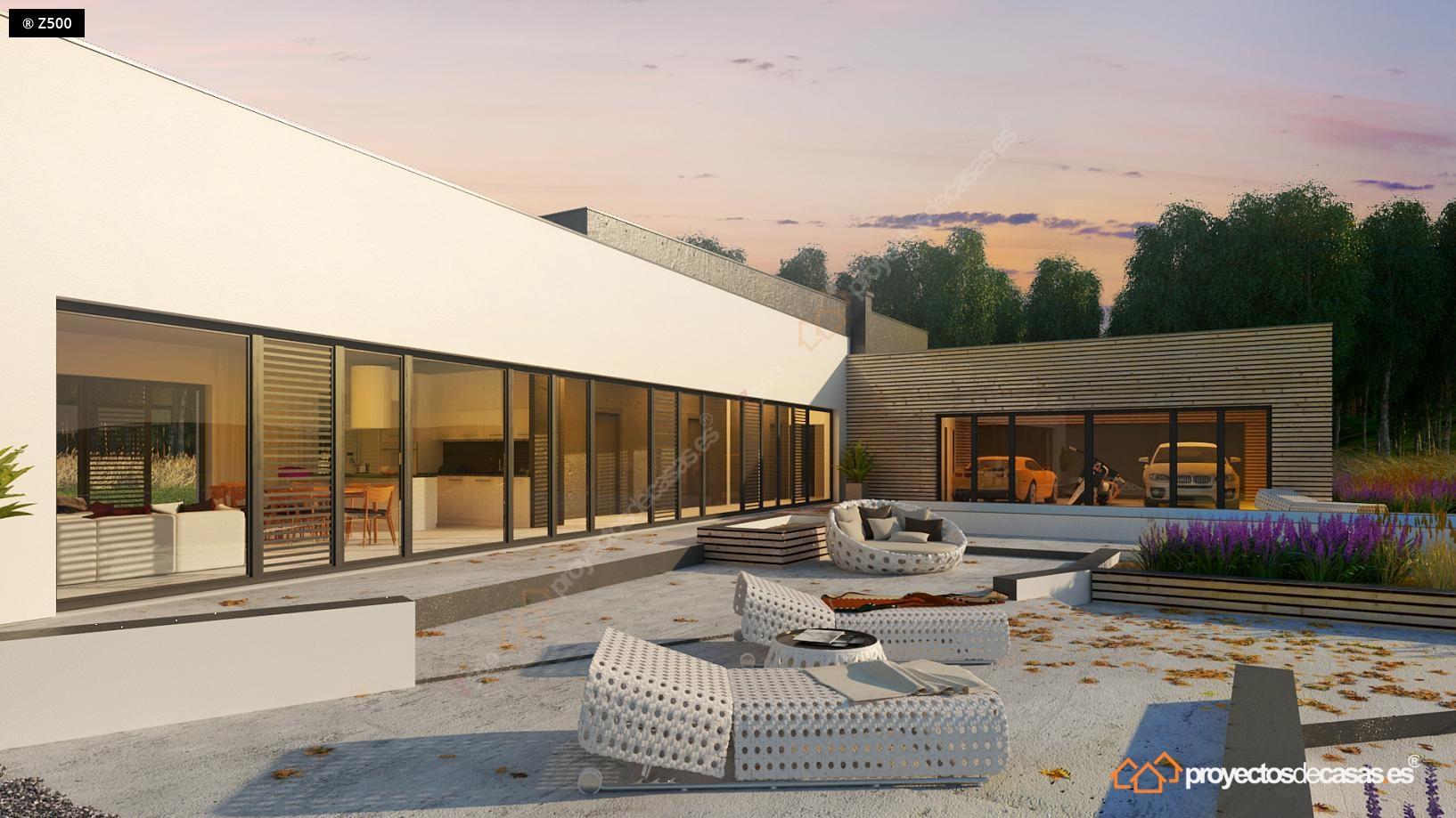 Casa moderna Roca Llisa con piscina y garaje a la vista para ...