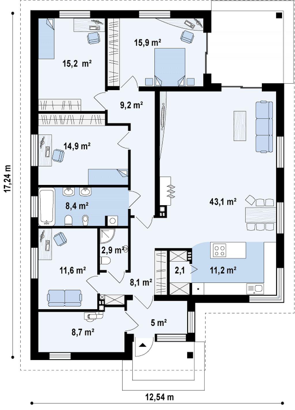 Proyectos De Casas Casa Moderna Proyectosdecasas