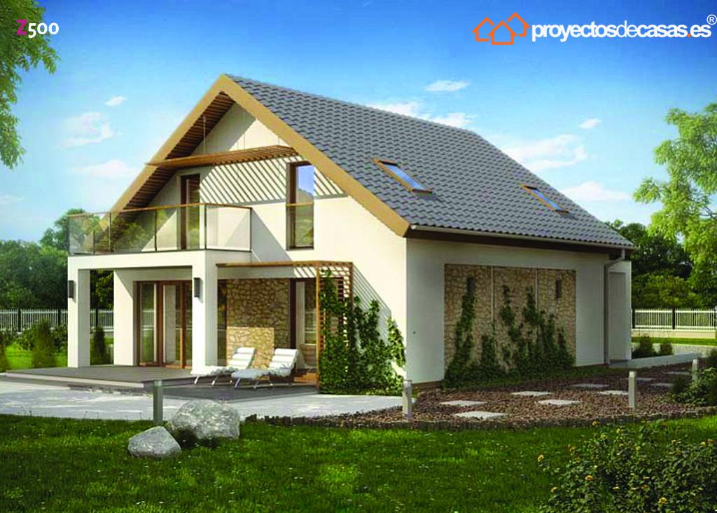 Proyectos de casas casa r stica proyectosdecasas - Arquitectos huesca ...