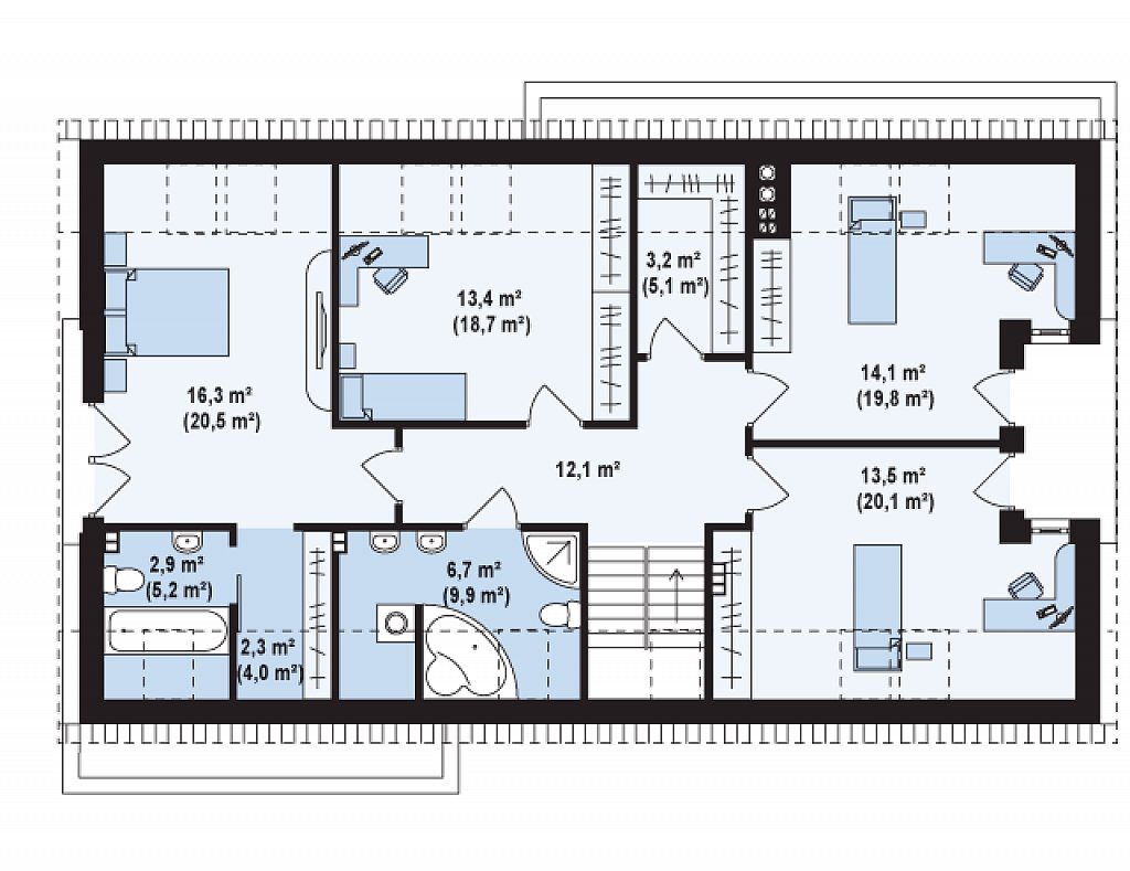 Proyectos de casas casa moderna proyectosdecasas - Planos de casas de planta baja ...