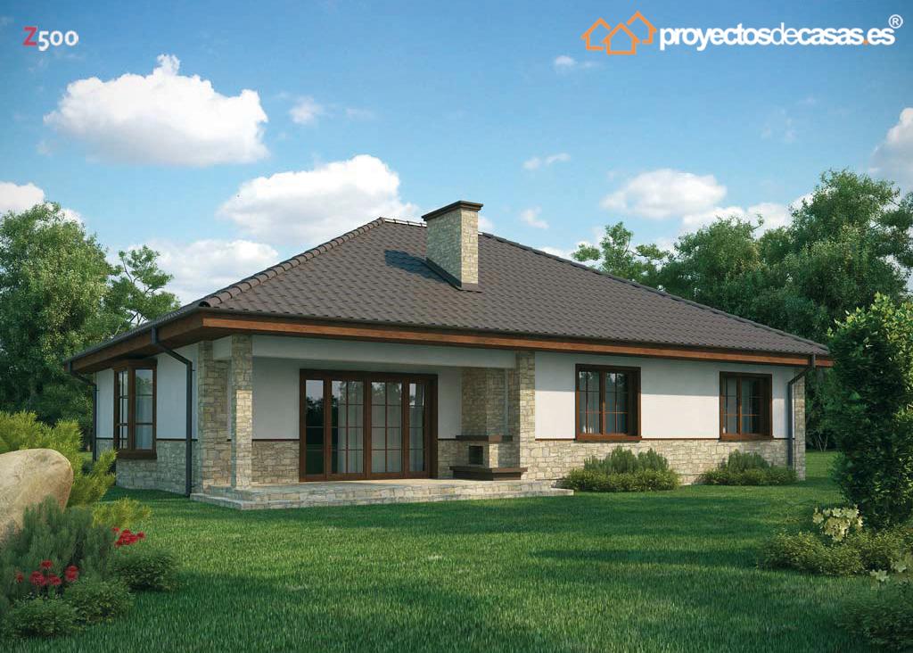 Proyectos de casas casa r stica proyectosdecasas - Planos de casas de piedra ...