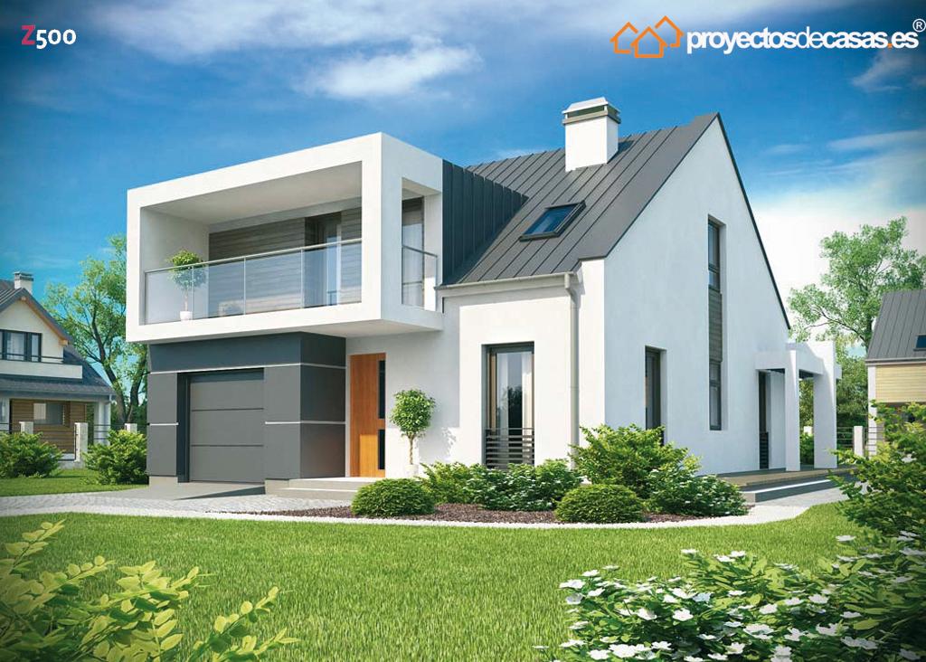Proyectos de casas casa moderna proyectosdecasas for Proyectos casas modernas