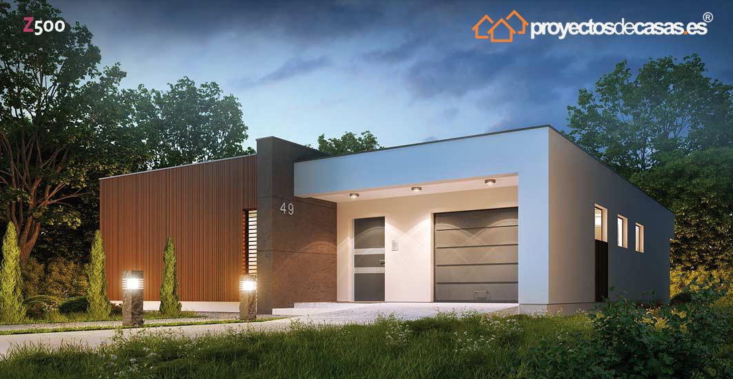 Proyectosdecasas dise amos y construimos casas en toda for Viviendas unifamiliares modernas