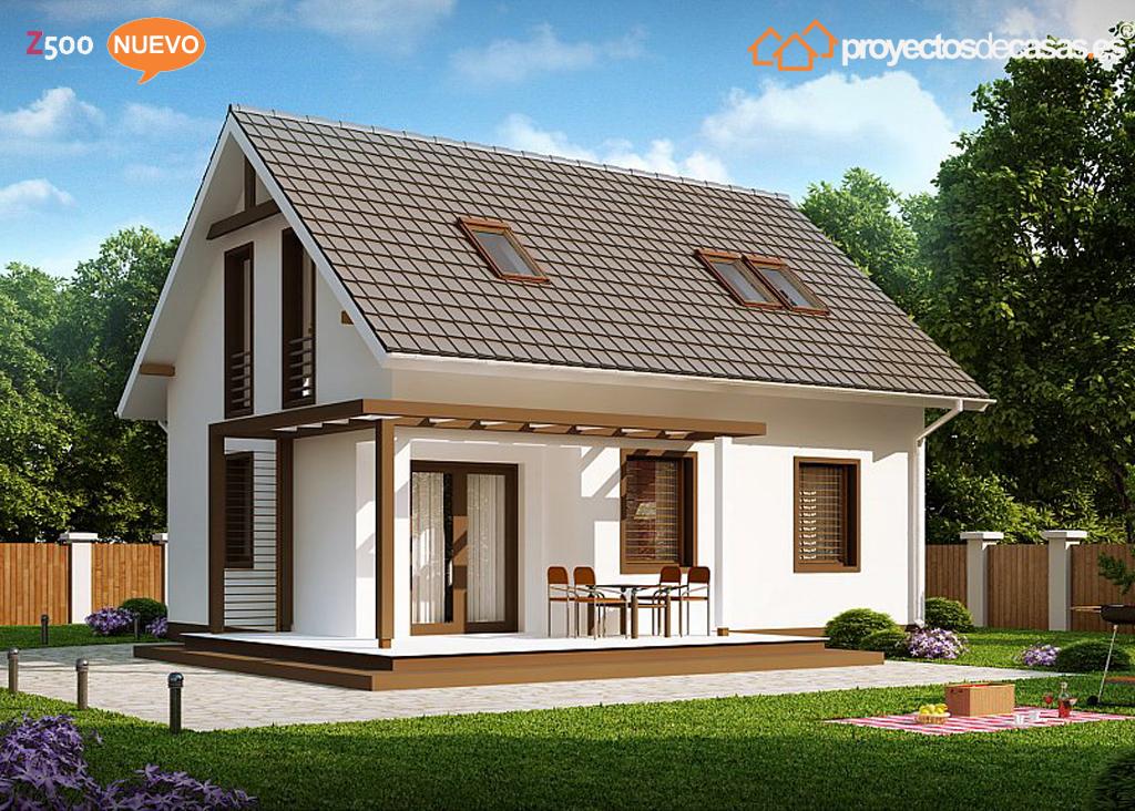 Proyectos de casas casa r stica proyectosdecasas - Casas prefabricadas en pontevedra ...