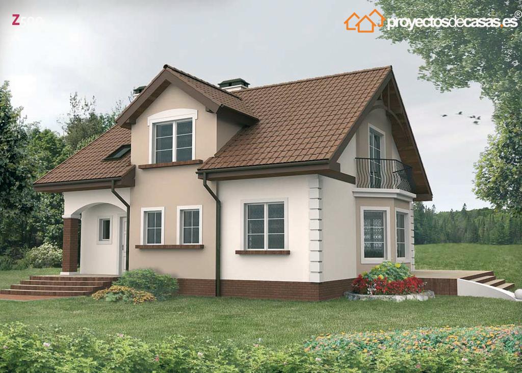 Proyectos de casas casa cl sica duraton proyectosdecasas dise amos y construimos casas en - Casas clasicas ...