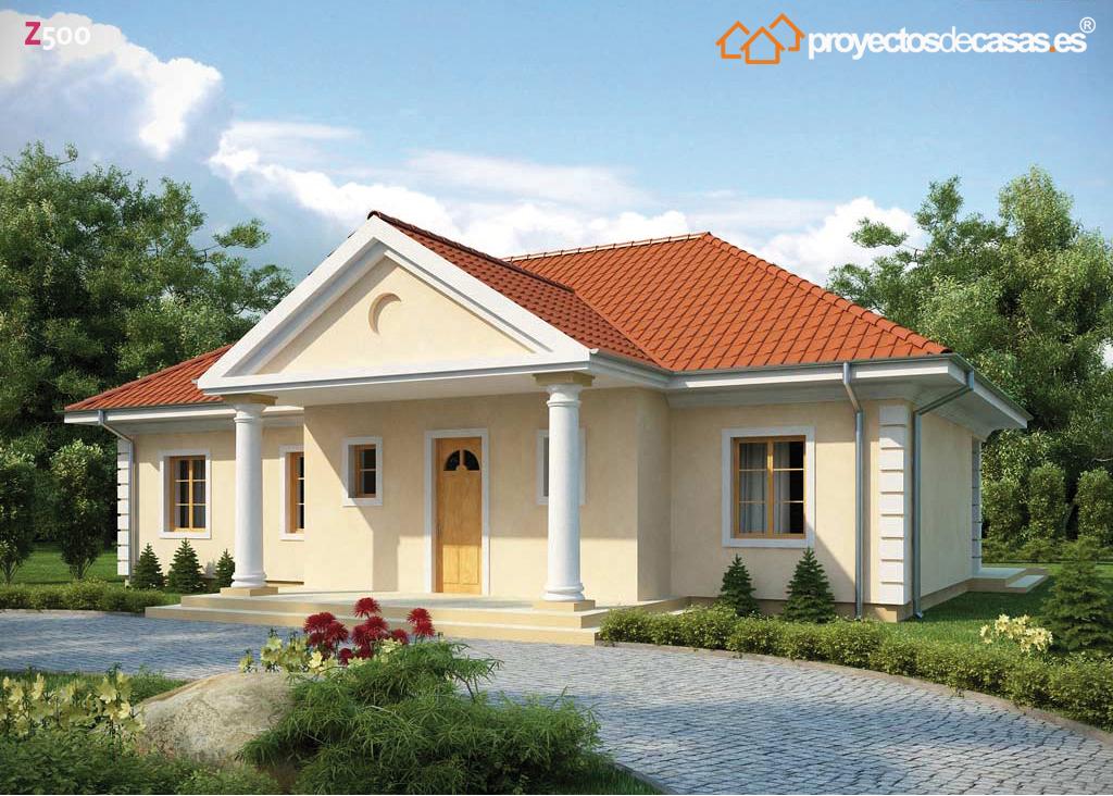 Proyectos de casas casa cl sica proyectosdecasas for Casas modernas 4 aguas