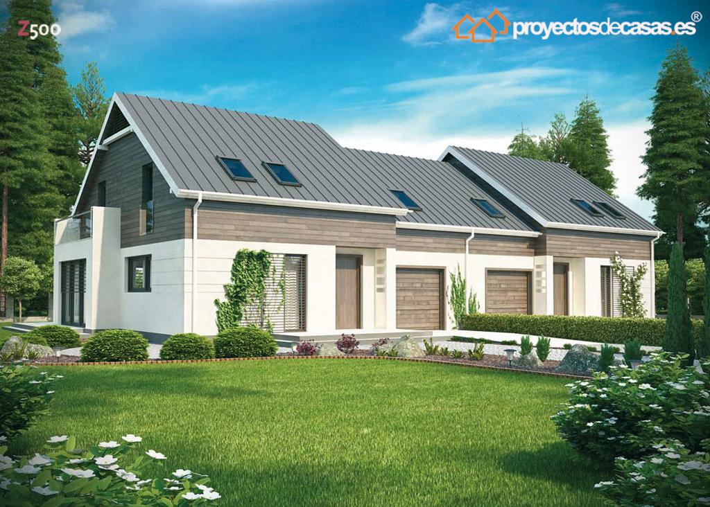 Proyectos de casas casa moderna con piscina - Casas prefabricadas cuenca ...