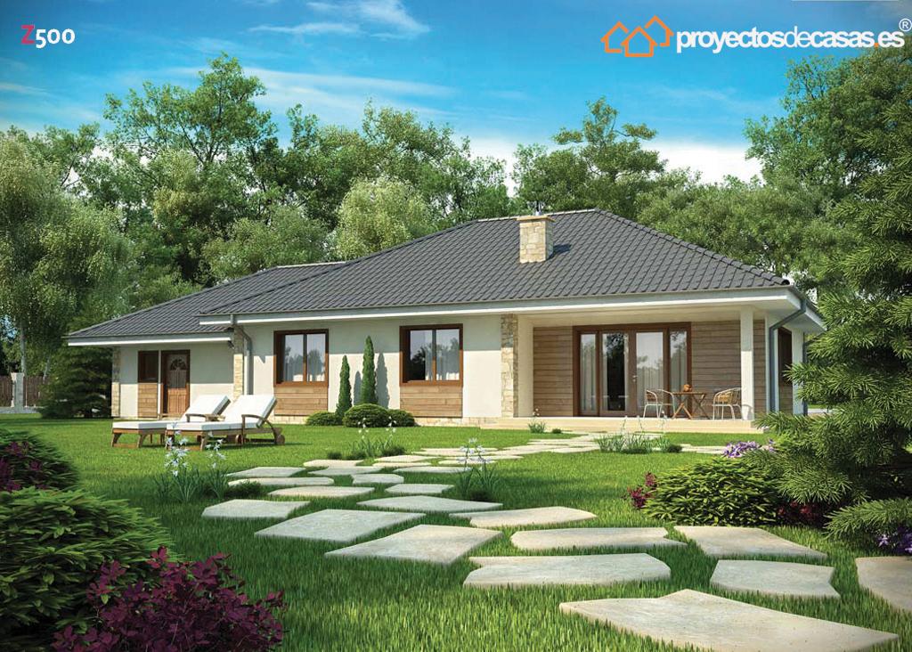Proyectos de casas descubre elegante casa r stica proyectosdecasas dise amos y construimos - Casas ecologicas en espana ...
