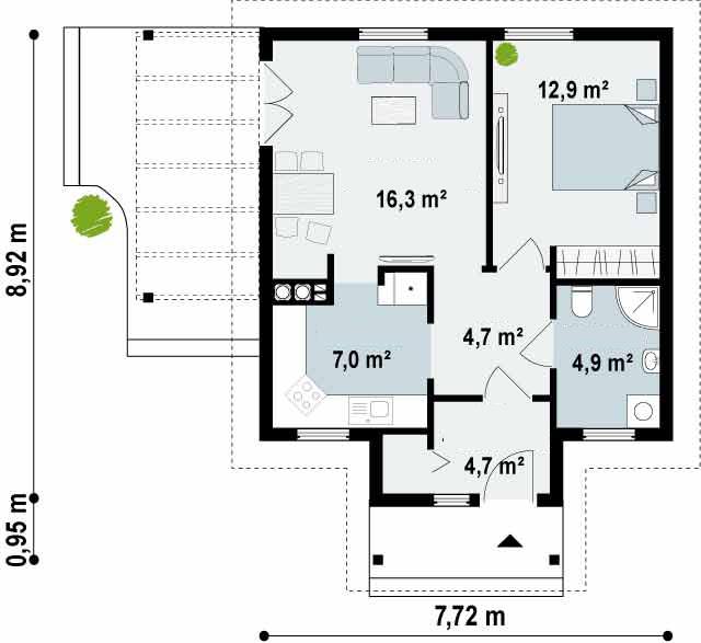 Proyectos de casas peque a casa de madera - Precio proyecto casa ...