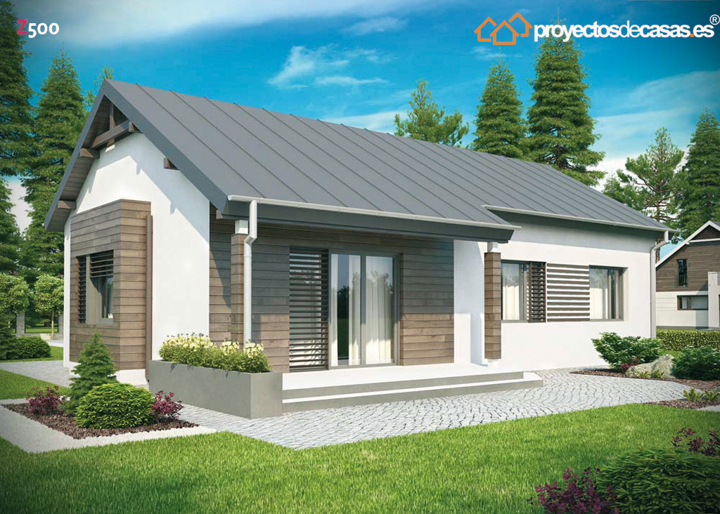 Proyectos de casas casa tradicional proyectosdecasas - Casas prefabricadas salamanca ...